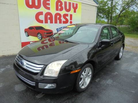 2009 Ford Fusion for sale at Right Price Auto Sales in Murfreesboro TN