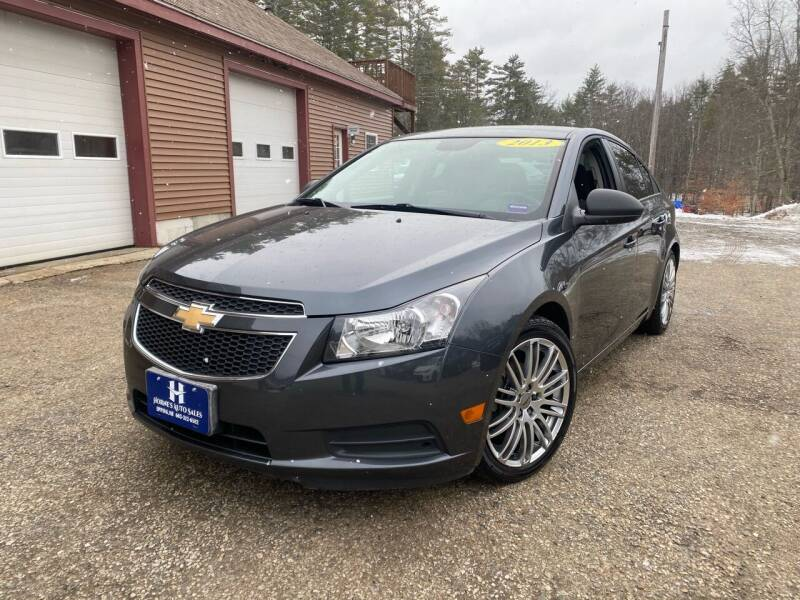 2013 Chevrolet Cruze for sale at Hornes Auto Sales LLC in Epping NH