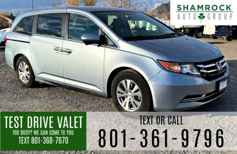 2014 Honda Odyssey for sale at Shamrock Group LLC #1 in Pleasant Grove UT