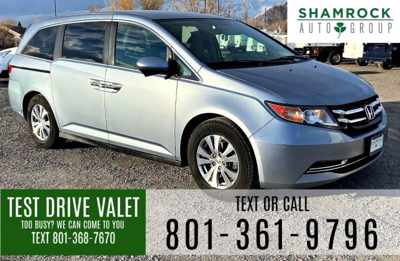 2014 Honda Odyssey for sale at Shamrock Group LLC #1 in Pleasant Grove UT