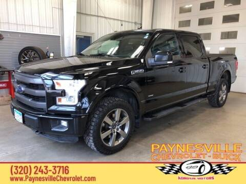 2016 Ford F-150 for sale at Paynesville Chevrolet Buick in Paynesville MN