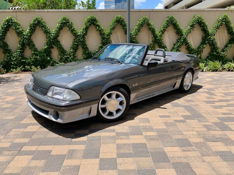 1988 Ford Mustang for sale at ROGERS MOTORCARS in Houston TX