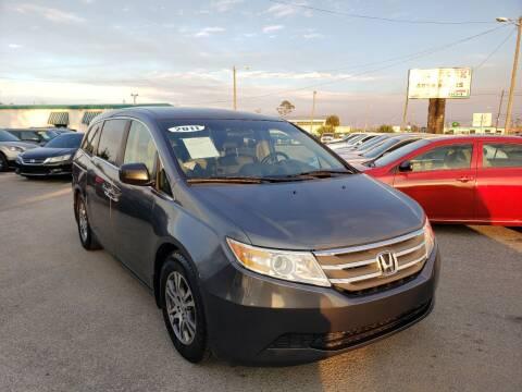2011 Honda Odyssey for sale at Jamrock Auto Sales of Panama City in Panama City FL