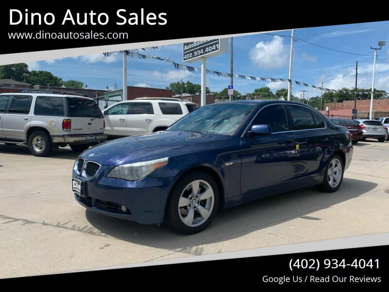 2006 BMW 5 Series for sale at Dino Auto Sales in Omaha NE