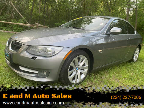 2011 BMW 3 Series for sale at E and M Auto Sales in Elgin IL