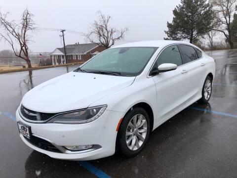 2015 Chrysler 200 for sale at DRIVE N BUY AUTO SALES in Ogden UT