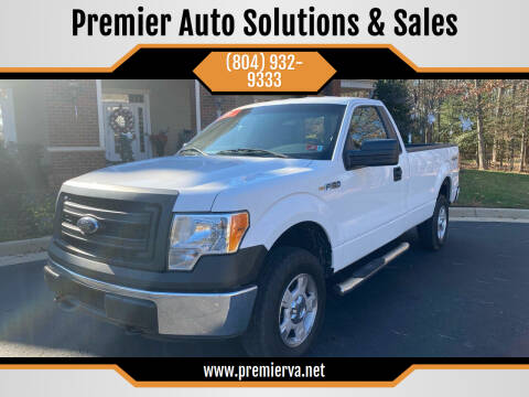 2014 Ford F-150 for sale at Premier Auto Solutions & Sales in Quinton VA