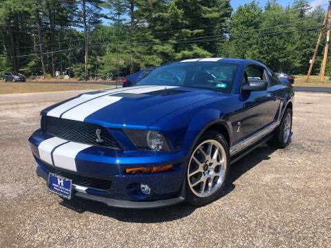 2008 Ford Shelby GT500 for sale at Hornes Auto Sales LLC in Epping NH