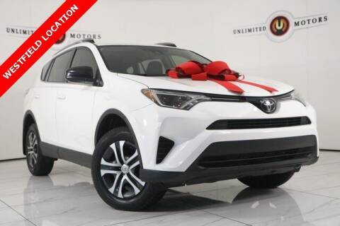 2018 Toyota RAV4 for sale at INDY'S UNLIMITED MOTORS - UNLIMITED MOTORS in Westfield IN