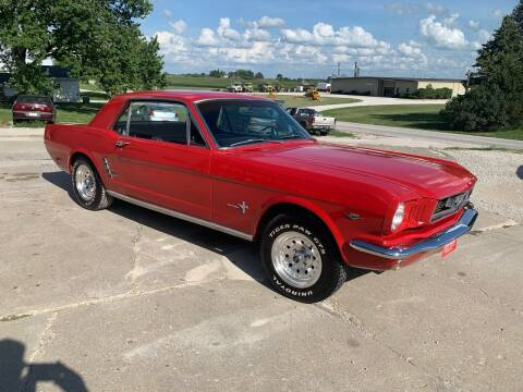 1966 Ford Mustang for sale at GREENFIELD AUTO SALES in Greenfield IA