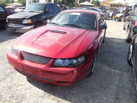 2001 Ford Mustang for sale at SCOTT HARRISON MOTOR CO in Houston TX
