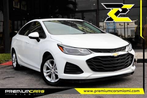 2019 Chevrolet Cruze for sale at Premium Cars of Miami in Miami FL