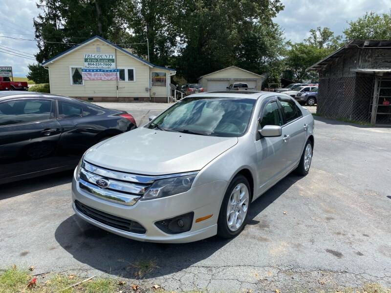 2010 Ford Fusion for sale at Tri-County Auto Sales in Pendleton SC
