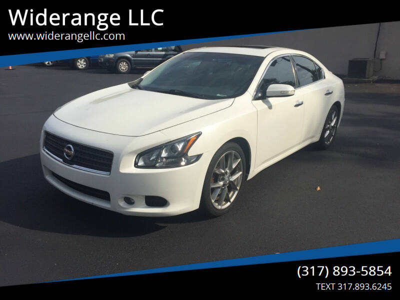 2011 Nissan Maxima for sale at Widerange LLC in Greenwood IN