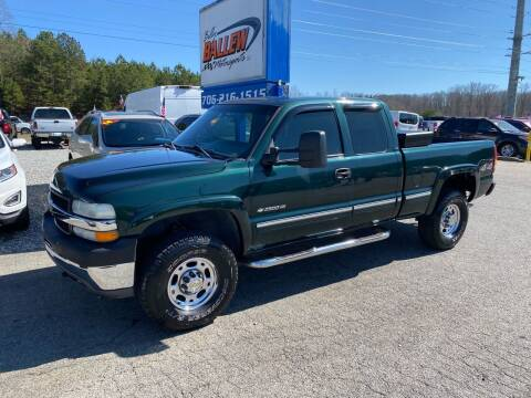 2002 Chevrolet Silverado 2500HD for sale at Billy Ballew Motorsports in Dawsonville GA