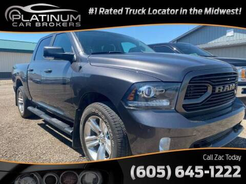 2018 RAM Ram Pickup 1500 for sale at Platinum Car Brokers in Spearfish SD