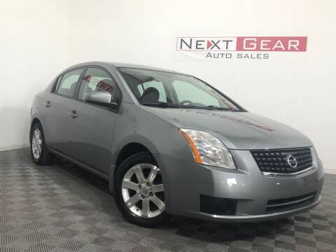 2007 Nissan Sentra for sale at Next Gear Auto Sales in Westfield IN