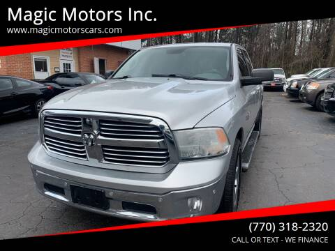 2014 RAM Ram Pickup 1500 for sale at Magic Motors Inc. in Snellville GA