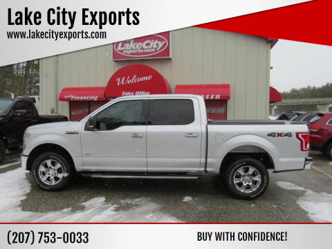 2015 Ford F-150 for sale at Lake City Exports - Lewiston in Lewiston ME
