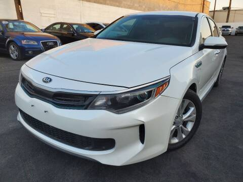 2017 Kia Optima Plug-In Hybrid for sale at Auto Center Of Las Vegas in Las Vegas NV