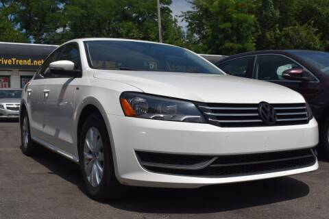2013 Volkswagen Passat for sale at DRIVE TREND in Cleveland OH
