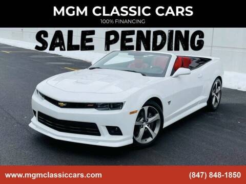 2015 Chevrolet Camaro for sale at MGM CLASSIC CARS in Addison, IL