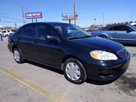 2006 Toyota Corolla for sale at Car Spot in Las Vegas NV