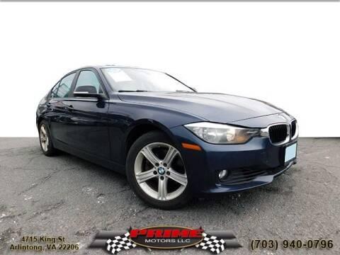 2013 BMW 3 Series for sale at PRIME MOTORS LLC in Arlington VA