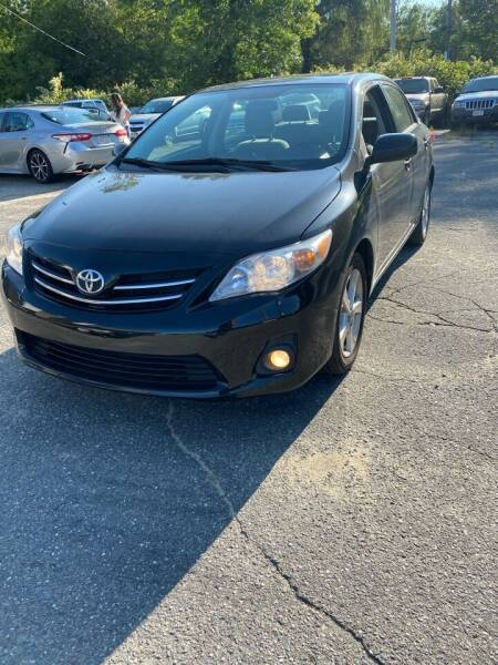 2013 Toyota Corolla for sale at Jack Bahnan in Leicester MA