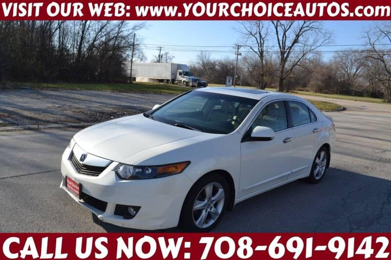 2010 Acura TSX for sale at Your Choice Autos - Crestwood in Crestwood IL