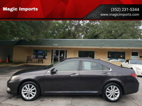 2011 Lexus ES 350 for sale at Magic Imports in Melrose FL