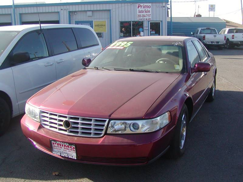 1999 Cadillac Seville for sale at Primo Auto Sales in Merced CA