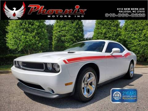 2013 Dodge Challenger for sale at Phoenix Motors Inc in Raleigh NC