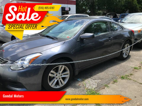 2010 Nissan Altima for sale at Gondal Motors in West Hempstead NY