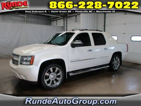 2012 Chevrolet Avalanche for sale at Runde Chevrolet in East Dubuque IL