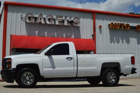 2015 Chevrolet Silverado 1500 for sale at Gagel's Auto Sales in Gibsonton FL