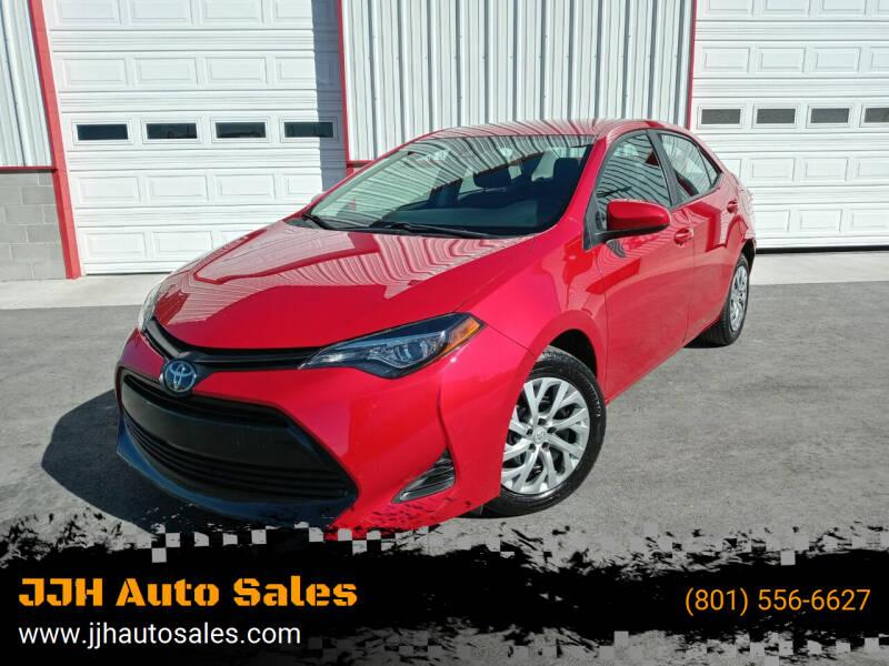 2019 Toyota Corolla for sale at JJH Auto Sales in Salt Lake City UT