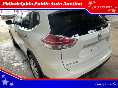 2014 Nissan Rogue for sale at Philadelphia Public Auto Auction in Philadelphia PA