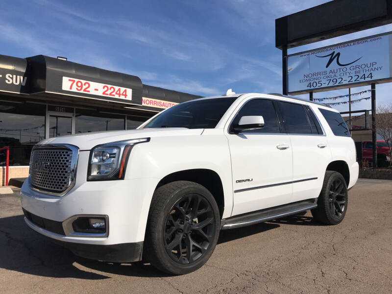 2017 GMC Yukon for sale at NORRIS AUTO SALES in Oklahoma City OK
