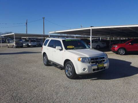 2012 Ford Escape for sale at Bostick's Auto & Truck Sales in Brownwood TX