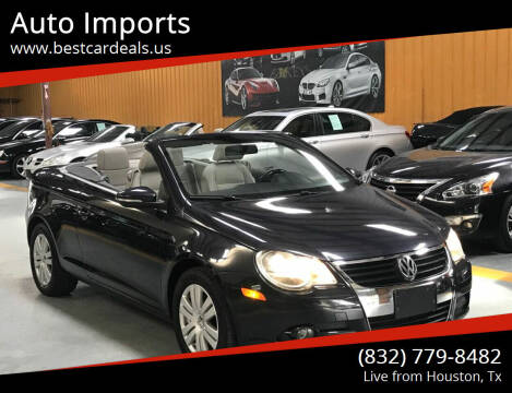 2009 Volkswagen Eos for sale at Auto Imports in Houston TX