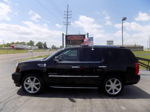 2014 Cadillac Escalade for sale at MYLENBUSCH AUTO SOURCE in O` Fallon MO