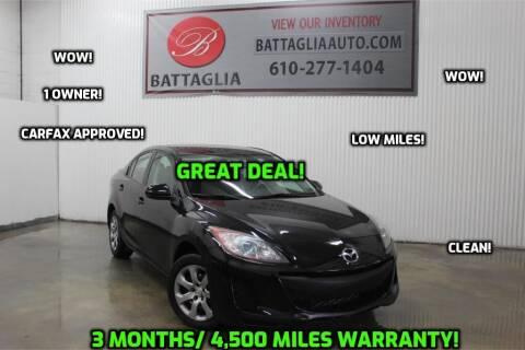2013 Mazda MAZDA3 for sale at Battaglia Auto Sales in Plymouth Meeting PA