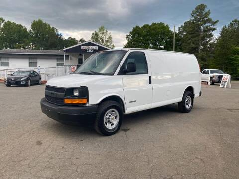 2004 Chevrolet Express Cargo for sale at CVC AUTO SALES in Durham NC