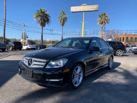 2012 Mercedes-Benz C-Class for sale at A MOTORS SALES AND FINANCE - 5630 San Pedro Ave in San Antonio TX