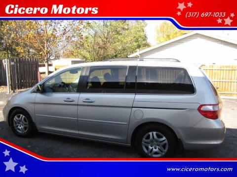 2005 Honda Odyssey for sale at Cicero Motors in Cicero IN