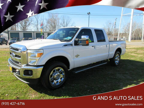 2013 Ford F-250 Super Duty for sale at G and S Auto Sales in Ardmore TN