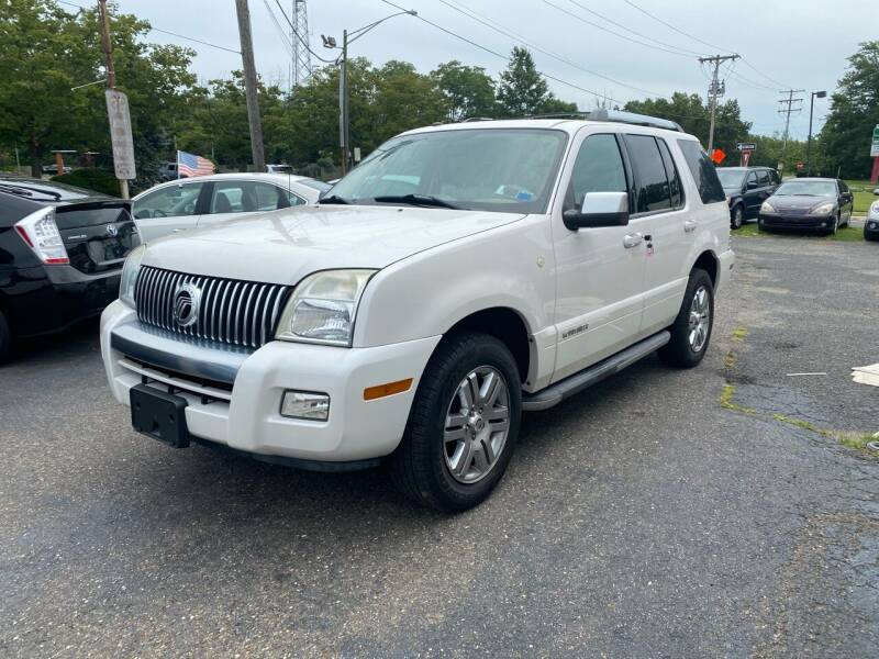 2010 Mercury Mountaineer for sale at Union Avenue Auto Sales in Hazlet NJ