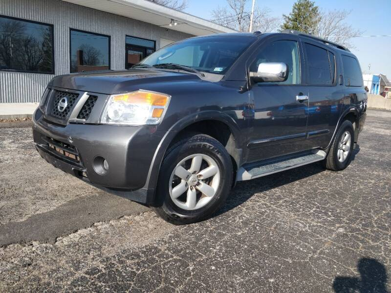 2010 Nissan Armada for sale at The Car Cove, LLC in Muncie IN