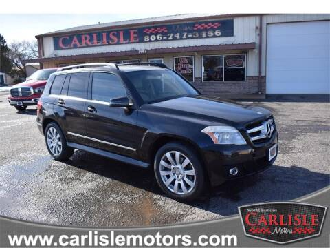 2010 Mercedes-Benz GLK for sale at Carlisle Motors in Lubbock TX